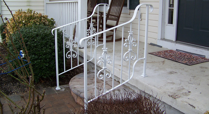 Wrought Iron Railings - South Jersey & Phila.