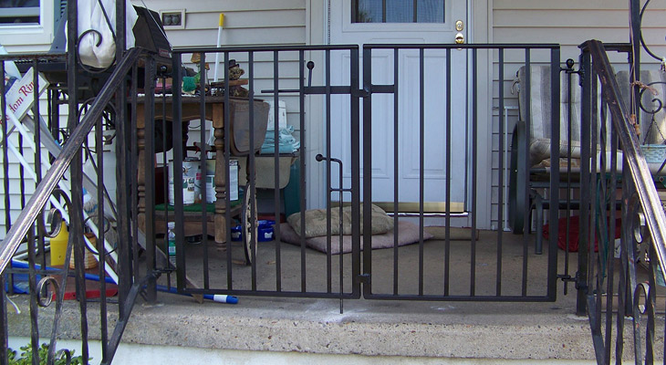 Custom Wrought Iron Railing - South Jersey & Philadelphia